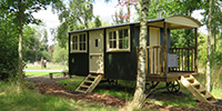 Shephard's Hut and Gypsy Caravan Self Catering