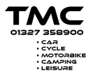 For all your camping supplies, bike supplies, near Silverstone, TMC - Car, Bike, Cycle, Camping & Leisure