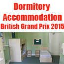 Winchester House dormitory accommodation for British Grand Prix